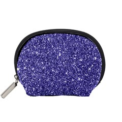 New Sparkling Glitter Print E Accessory Pouches (small)  by MoreColorsinLife