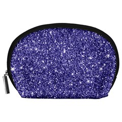 New Sparkling Glitter Print E Accessory Pouches (large)  by MoreColorsinLife