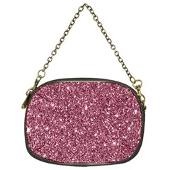 New Sparkling Glitter Print C Chain Purses (one Side)  by MoreColorsinLife