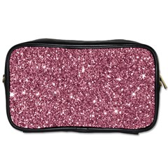New Sparkling Glitter Print C Toiletries Bags 2 Side by MoreColorsinLife