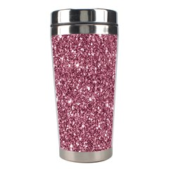 New Sparkling Glitter Print C Stainless Steel Travel Tumblers by MoreColorsinLife