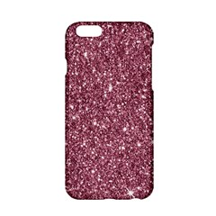 New Sparkling Glitter Print C Apple Iphone 6/6s Hardshell Case by MoreColorsinLife