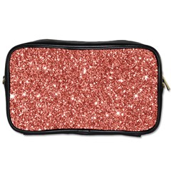 New Sparkling Glitter Print B Toiletries Bags 2 Side by MoreColorsinLife