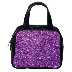 New Sparkling Glitter Print D Classic Handbags (one Side) by MoreColorsinLife