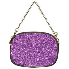 New Sparkling Glitter Print D Chain Purses (one Side)  by MoreColorsinLife