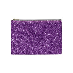 New Sparkling Glitter Print D Cosmetic Bag (medium)  by MoreColorsinLife