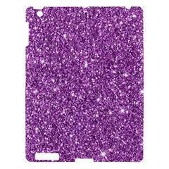 New Sparkling Glitter Print D Apple Ipad 3/4 Hardshell Case by MoreColorsinLife