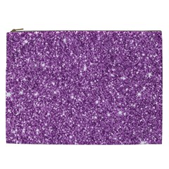 New Sparkling Glitter Print D Cosmetic Bag (xxl)  by MoreColorsinLife