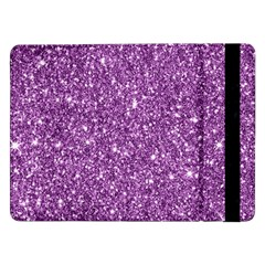 New Sparkling Glitter Print D Samsung Galaxy Tab Pro 12 2  Flip Case by MoreColorsinLife