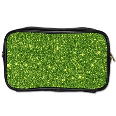 New Sparkling Glitter Print G Toiletries Bags 2 Side by MoreColorsinLife