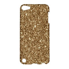 New Sparkling Glitter Print H Apple Ipod Touch 5 Hardshell Case by MoreColorsinLife