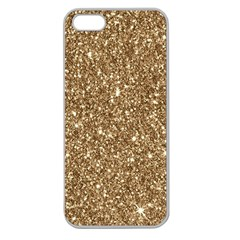 New Sparkling Glitter Print H Apple Seamless Iphone 5 Case (clear) by MoreColorsinLife