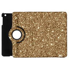 New Sparkling Glitter Print H Apple Ipad Mini Flip 360 Case by MoreColorsinLife