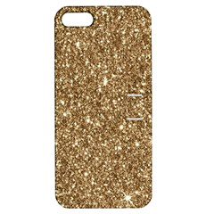 New Sparkling Glitter Print H Apple Iphone 5 Hardshell Case With Stand by MoreColorsinLife