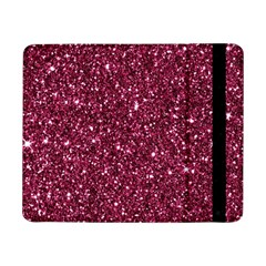 New Sparkling Glitter Print J Samsung Galaxy Tab Pro 8 4  Flip Case by MoreColorsinLife