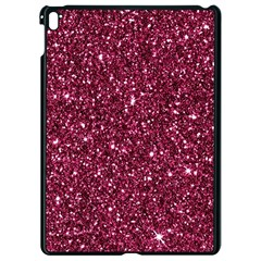 New Sparkling Glitter Print J Apple Ipad Pro 9 7   Black Seamless Case by MoreColorsinLife