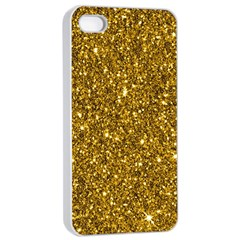 New Sparkling Glitter Print I Apple Iphone 4/4s Seamless Case (white)
