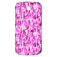Pink Grunge Love Samsung Galaxy S3 S Iii Classic Hardshell Back Case by KirstenStar