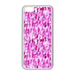 Pink Grunge Love Apple Iphone 5c Seamless Case (white) by KirstenStar