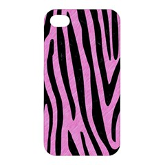Skin4 Black Marble & Pink Colored Pencil (r) Apple Iphone 4/4s Premium Hardshell Case by trendistuff