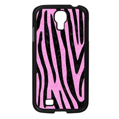 Skin4 Black Marble & Pink Colored Pencil (r) Samsung Galaxy S4 I9500/ I9505 Case (black) by trendistuff