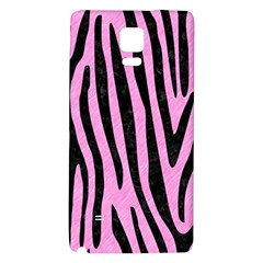 Skin4 Black Marble & Pink Colored Pencil (r) Galaxy Note 4 Back Case by trendistuff
