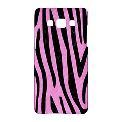 Skin4 Black Marble & Pink Colored Pencil (r) Samsung Galaxy A5 Hardshell Case  by trendistuff