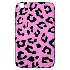 Skin5 Black Marble & Pink Colored Pencil (r) Samsung Galaxy Tab 3 (8 ) T3100 Hardshell Case  by trendistuff