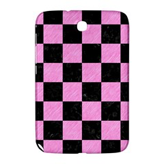 Square1 Black Marble & Pink Colored Pencil Samsung Galaxy Note 8 0 N5100 Hardshell Case  by trendistuff