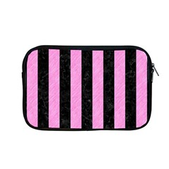 Stripes1 Black Marble & Pink Colored Pencil Apple Macbook Pro 13  Zipper Case