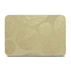 Modern, Gold,polka Dots, Metallic,elegant,chic,hand Painted, Beautiful,contemporary,deocrative,decor Plate Mats