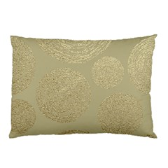 Modern, Gold,polka Dots, Metallic,elegant,chic,hand Painted, Beautiful,contemporary,deocrative,decor Pillow Case
