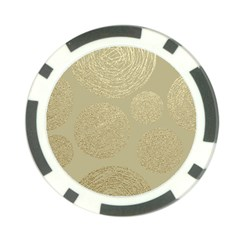 Modern, Gold,polka Dots, Metallic,elegant,chic,hand Painted, Beautiful,contemporary,deocrative,decor Poker Chip Card Guard (10 Pack)