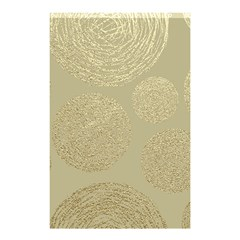 Modern, Gold,polka Dots, Metallic,elegant,chic,hand Painted, Beautiful,contemporary,deocrative,decor Shower Curtain 48  X 72  (small)