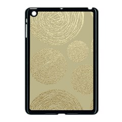 Modern, Gold,polka Dots, Metallic,elegant,chic,hand Painted, Beautiful,contemporary,deocrative,decor Apple Ipad Mini Case (black)