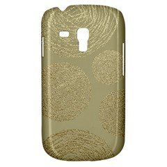 Modern, Gold,polka Dots, Metallic,elegant,chic,hand Painted, Beautiful,contemporary,deocrative,decor Galaxy S3 Mini