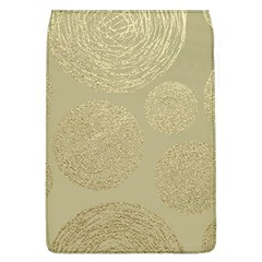 Modern, Gold,polka Dots, Metallic,elegant,chic,hand Painted, Beautiful,contemporary,deocrative,decor Flap Covers (l)
