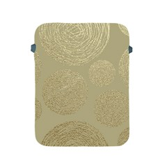 Modern, Gold,polka Dots, Metallic,elegant,chic,hand Painted, Beautiful,contemporary,deocrative,decor Apple Ipad 2/3/4 Protective Soft Cases