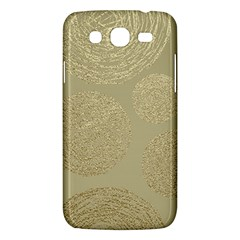 Modern, Gold,polka Dots, Metallic,elegant,chic,hand Painted, Beautiful,contemporary,deocrative,decor Samsung Galaxy Mega 5 8 I9152 Hardshell Case  by 8fugoso