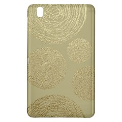 Modern, Gold,polka Dots, Metallic,elegant,chic,hand Painted, Beautiful,contemporary,deocrative,decor Samsung Galaxy Tab Pro 8 4 Hardshell Case