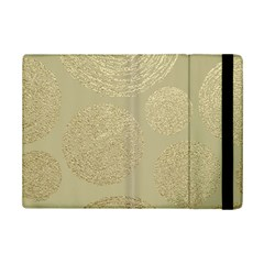 Modern, Gold,polka Dots, Metallic,elegant,chic,hand Painted, Beautiful,contemporary,deocrative,decor Ipad Mini 2 Flip Cases