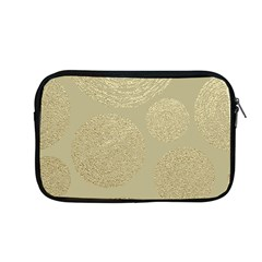Modern, Gold,polka Dots, Metallic,elegant,chic,hand Painted, Beautiful,contemporary,deocrative,decor Apple Macbook Pro 13  Zipper Case