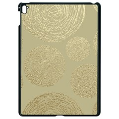 Modern, Gold,polka Dots, Metallic,elegant,chic,hand Painted, Beautiful,contemporary,deocrative,decor Apple Ipad Pro 9 7   Black Seamless Case
