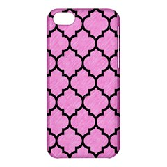 Tile1 Black Marble & Pink Colored Pencil Apple Iphone 5c Hardshell Case by trendistuff