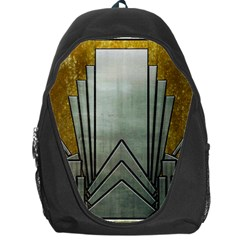 Art Nouveau Gold Silver Backpack Bag by 8fugoso