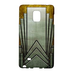 Art Nouveau Gold Silver Galaxy Note Edge by 8fugoso