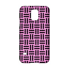Woven1 Black Marble & Pink Colored Pencil Samsung Galaxy S5 Hardshell Case  by trendistuff