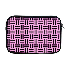 Woven1 Black Marble & Pink Colored Pencil Apple Macbook Pro 17  Zipper Case by trendistuff