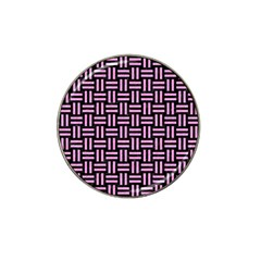 Woven1 Black Marble & Pink Colored Pencil (r) Hat Clip Ball Marker (4 Pack) by trendistuff