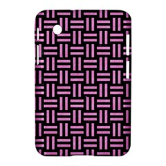 Woven1 Black Marble & Pink Colored Pencil (r) Samsung Galaxy Tab 2 (7 ) P3100 Hardshell Case  by trendistuff